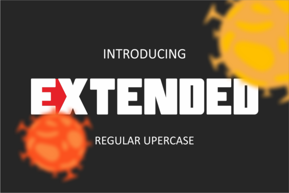 Print on Demand: Extended Display Font By DUMADI