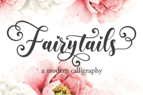 Print on Demand: Fairytails Script & Handwritten Font By Almeera Studio