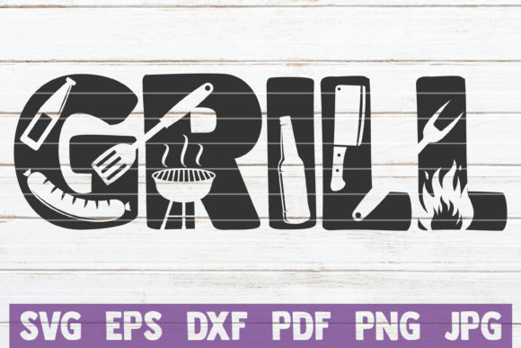 Grill Graphic Graphic Templates By MintyMarshmallows