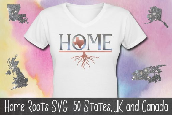 Home Roots File 50 States Graphic Illustrations By Anayah's Room
