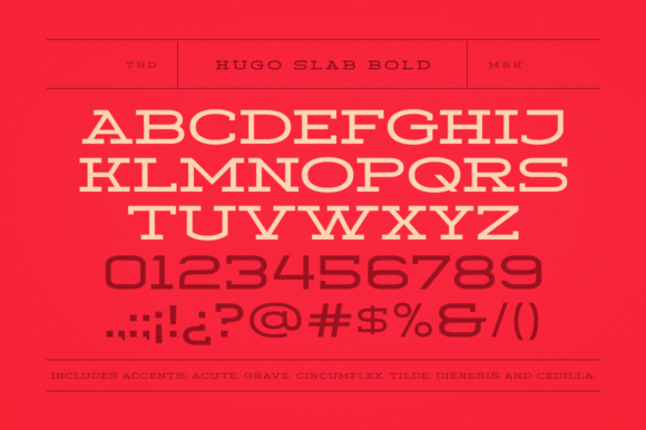 Print on Demand: Hugo Serif Font By DonMarciano - Image 2