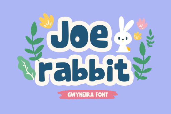 Print on Demand: Joe Rabbit Display Font By a.gwyneira