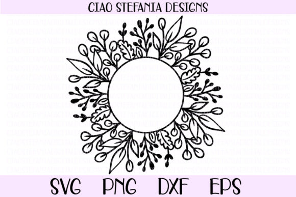 Download Free Floral Mom Graphic By Ciaostefaniadigital Creative Fabrica for Cricut Explore, Silhouette and other cutting machines.