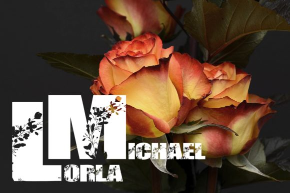 Print on Demand: Lorla & Michael Decorative Font By Mr.pagman