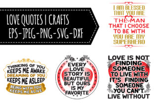Print on Demand: Love Quotes Graphic Crafts By Tosca Digital 1