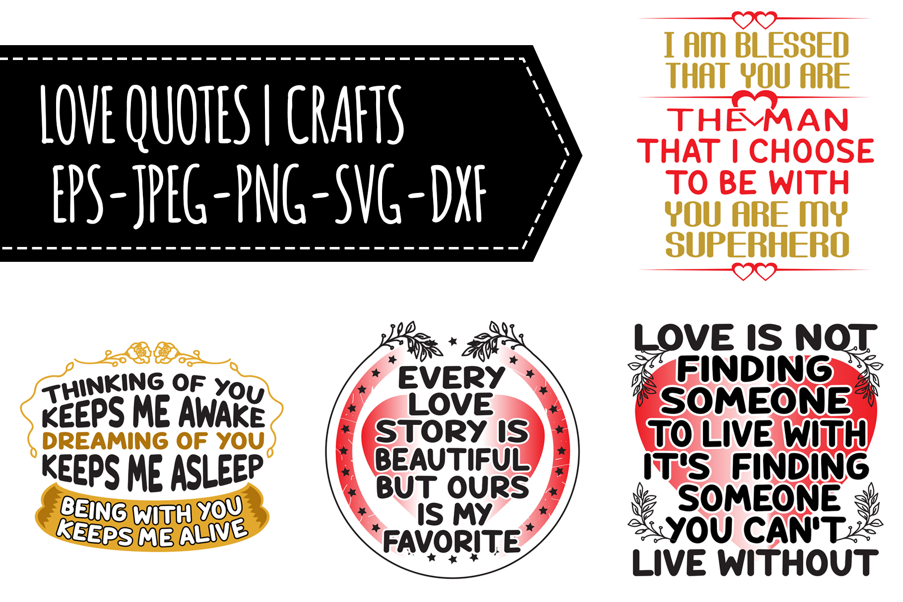 Download Free Love Quotes Graphic By Tosca Digital Creative Fabrica for Cricut Explore, Silhouette and other cutting machines.