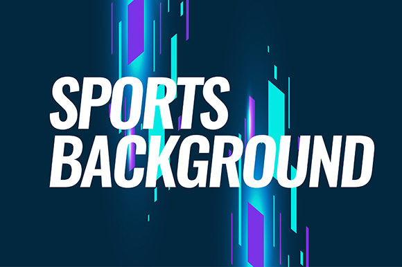 Modern Colored Background for Sports Graphic Backgrounds By apple