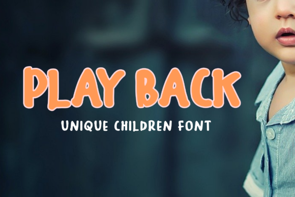 Print on Demand: Play Back Display Font By Rusd studio