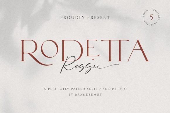 Print on Demand: Rodetta Rossie Serif Font By BrandSemut