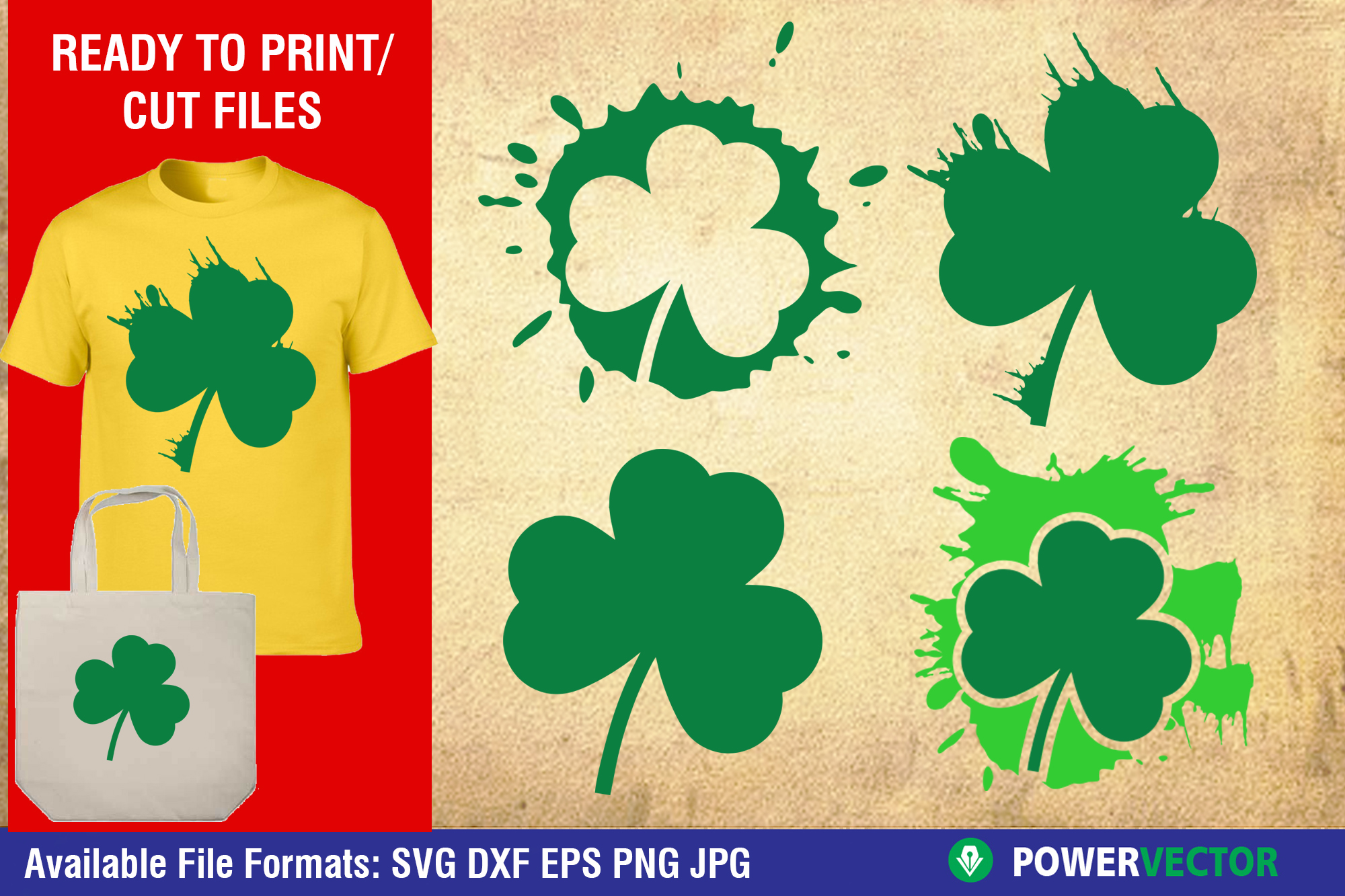 Download Free Saint Patricks Day Clipart Graphic By Powervector Creative Fabrica SVG Cut Files