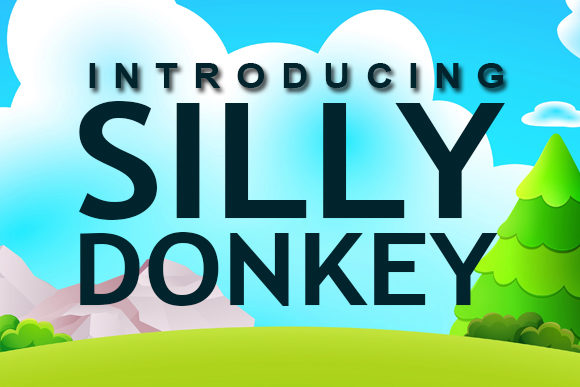 Print on Demand: Silly Donkey Dingbats Font By vladimirnikolic