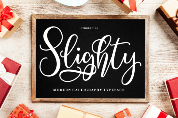 Print on Demand: Slighty Script & Handwritten Font By Ijem RockArt - Image 1