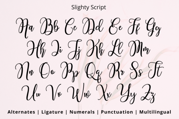 Print on Demand: Slighty Script & Handwritten Font By Ijem RockArt - Image 11