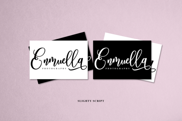 Print on Demand: Slighty Script & Handwritten Font By Ijem RockArt - Image 2
