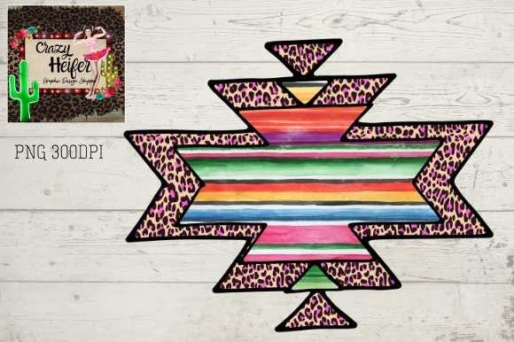 Southwestern Background Aztec Ethnic Dye Graphic Backgrounds By Crazy Heifer Design Shoppe
