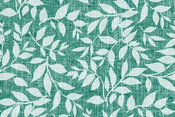 Textured Leafy Pattern Graphic Patterns By emikundesigns
