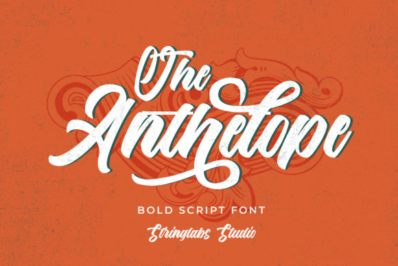 Print on Demand: The Anthelope Script & Handwritten Font By StringLabs