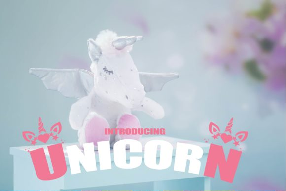 Print on Demand: Unicorn Display Font By Mr.pagman
