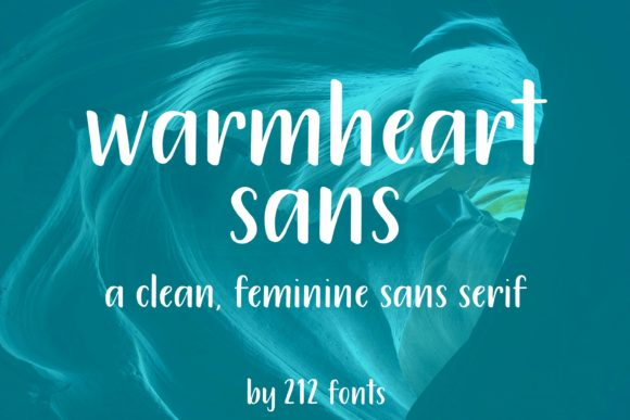 Print on Demand: Warmheart Script & Handwritten Font By 212 Fonts