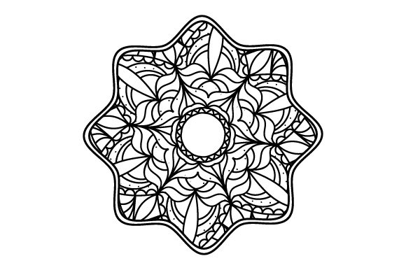 Flower Mandalas Craft Cut File By Creative Fabrica Crafts