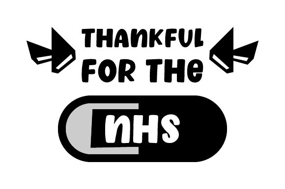 Thankful for the NHS UK Designs Plotterdatei von Creative Fabrica Crafts