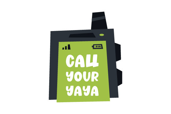 Call Your YaYa Mother's Day Craft Cut File By Creative Fabrica Crafts