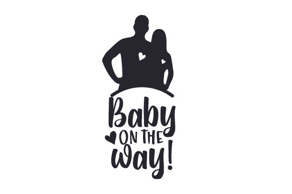 Baby on the Way! Baby Craft Cut File By Creative Fabrica Crafts