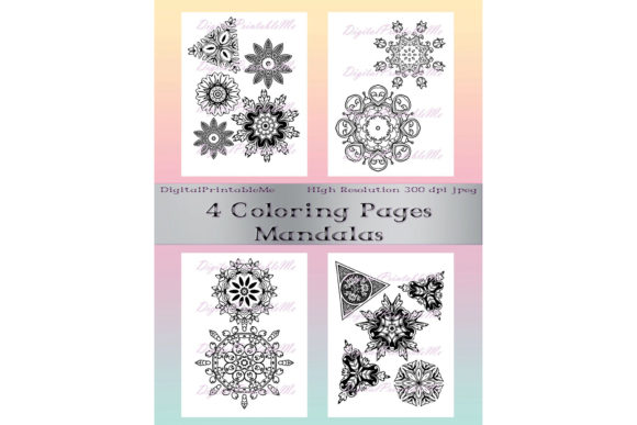 Download Free 10 Mandala Sets To Color And Chill Creative Fabrica for Cricut Explore, Silhouette and other cutting machines.