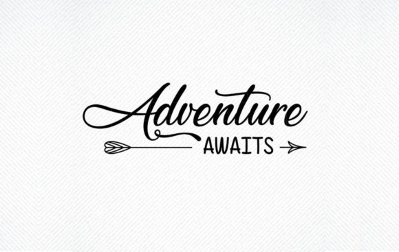Download Free Adventure Awaits Nursery Wedding Graphic By Svg Den Creative for Cricut Explore, Silhouette and other cutting machines.