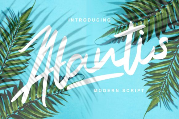 Print on Demand: Alantis Script & Handwritten Font By Vunira