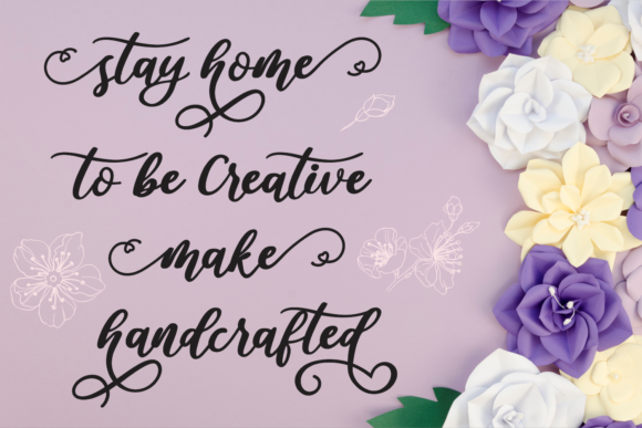 Download Free Amalya Font By Girinesia Creative Fabrica for Cricut Explore, Silhouette and other cutting machines.