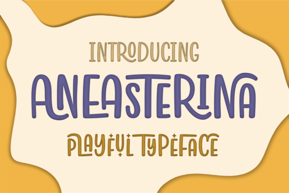 Print on Demand: Aneasterina Script & Handwritten Font By Situjuh