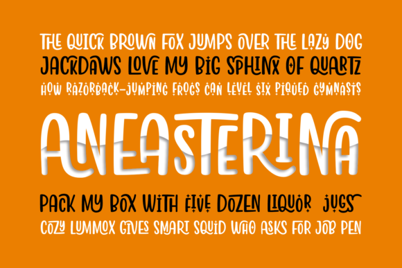 Print on Demand: Aneasterina Script & Handwritten Font By Situjuh - Image 6