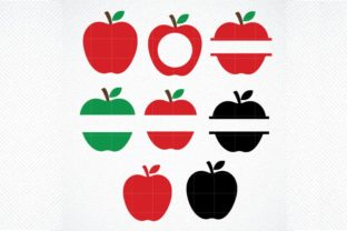 Download Free Apple Teacher Teacher Monogram Graphic By Svg Den Creative for Cricut Explore, Silhouette and other cutting machines.