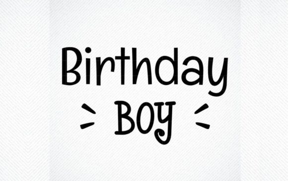 Download Free Birthday Boy Birthday Boy Graphic Graphic By Svg Den Creative for Cricut Explore, Silhouette and other cutting machines.