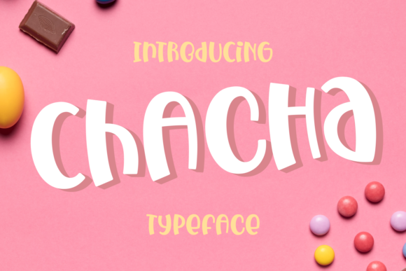 Print on Demand: Chacha Display Font By Dani (7NTypes)