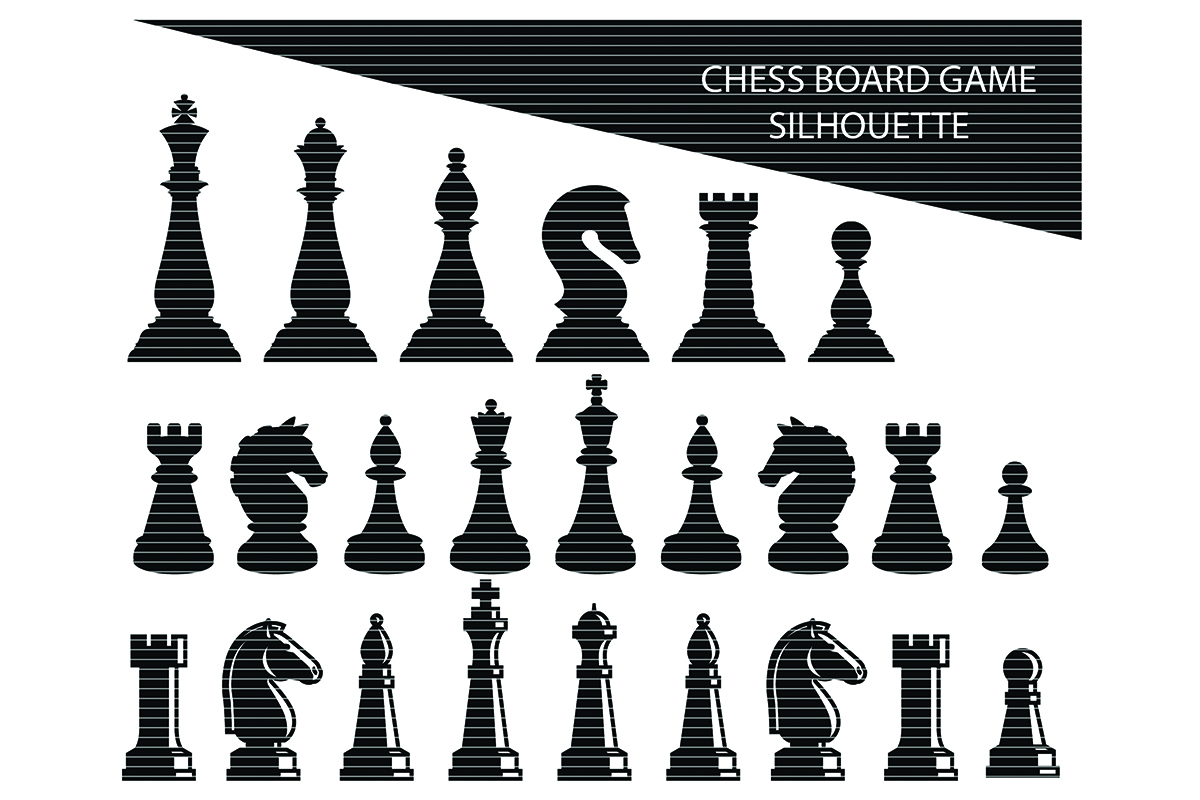 Download Free Chess Board Game Clip Art Graphic By Meshaarts Creative Fabrica for Cricut Explore, Silhouette and other cutting machines.