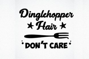 Download Free Dinglehopper Haid Don T Care Graphic Graphic By Svg Den for Cricut Explore, Silhouette and other cutting machines.