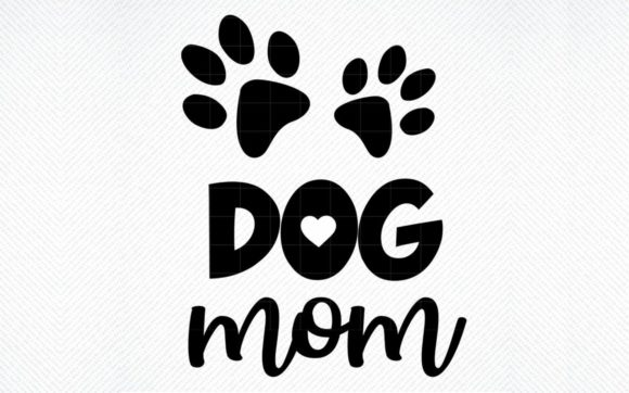 Print on Demand: Dog Mom Graphic Graphic Templates By SVG DEN
