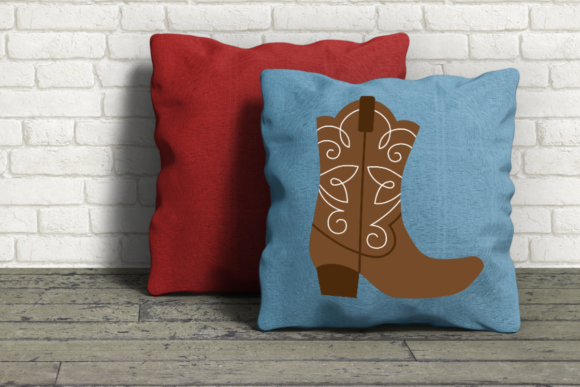 Fancy Western Boot Graphic Crafts By DesignedByGeeks