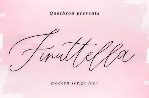 Print on Demand: Finuttella Script & Handwritten Font By it_was_a_good_day
