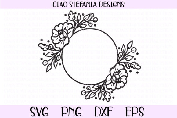 Download Free Flamingo With Flower Crown Graphic By Ciaostefaniadigital for Cricut Explore, Silhouette and other cutting machines.