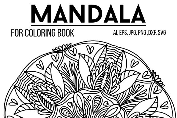 Print on Demand: Graphics Mandala 21 Graphic Graphic Templates By stanosh