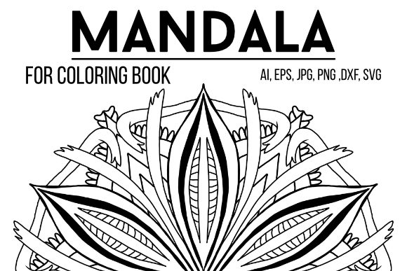 Print on Demand: Graphics Mandala 23 Graphic Coloring Pages & Books Adults By stanosh - Image 1