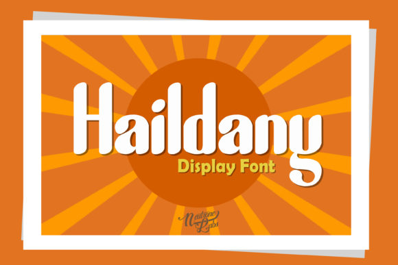 Print on Demand: Haildany Display Font By NeutroneLabs