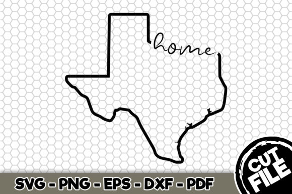 Download Free Home Texas Graphic By Svgexpress Creative Fabrica for Cricut Explore, Silhouette and other cutting machines.