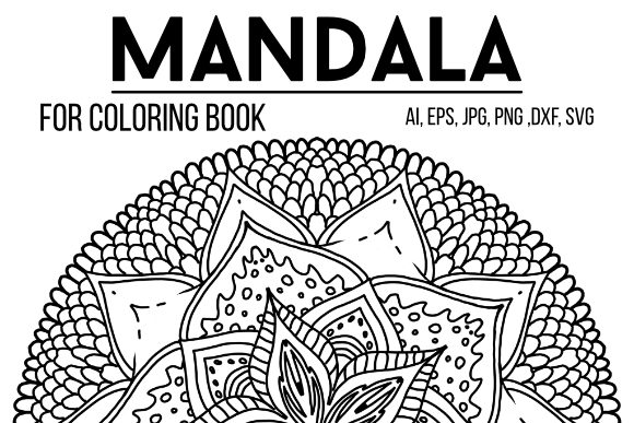 Print on Demand: Mandala Design 15 Graphic Coloring Pages & Books Adults By stanosh - Image 1