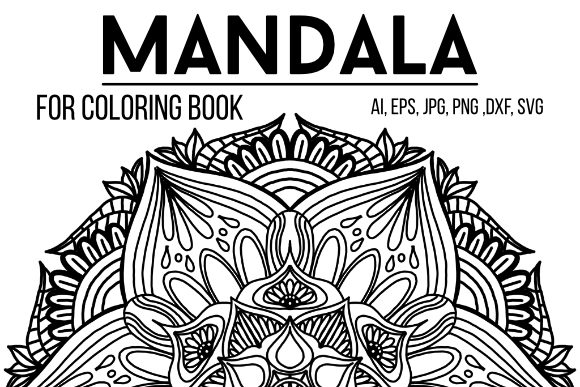 Print on Demand: Mandala Design 18 Graphic Coloring Pages & Books Adults By stanosh