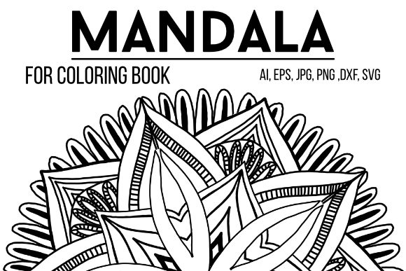 Print on Demand: Mandala Graphics 19 Graphic Coloring Pages & Books Adults By stanosh - Image 1
