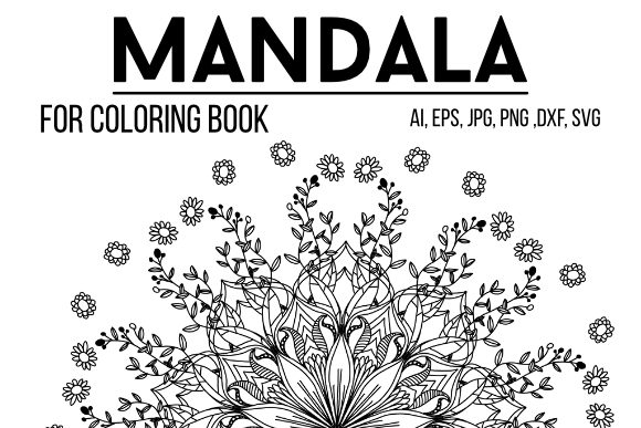 Print on Demand: Mandala Graphics 24 Graphic Coloring Pages & Books Adults By stanosh - Image 1